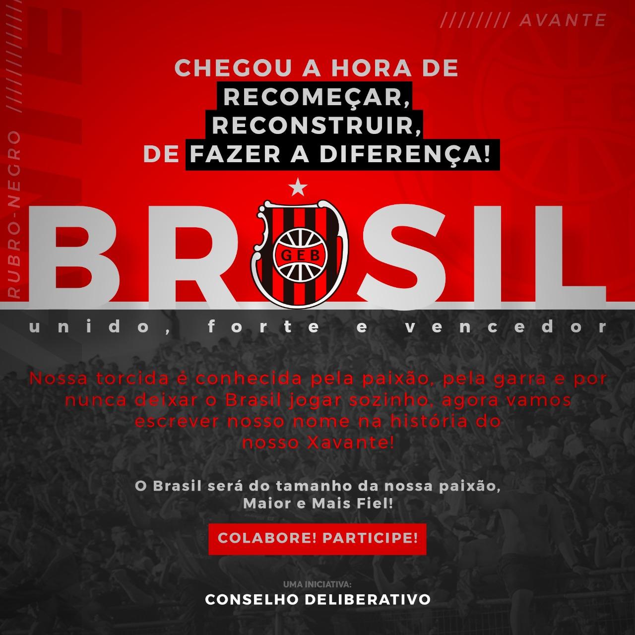 BRASIL UNIDO FORTE E VENCEDOR