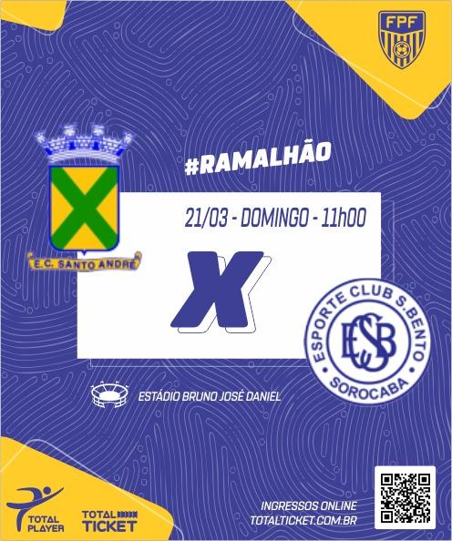 SANTO ANDRE X SÃO BENTO