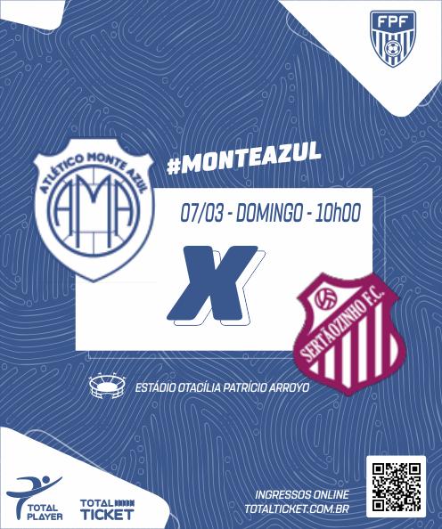 MONTE AZUL X SERTÃOZINHO