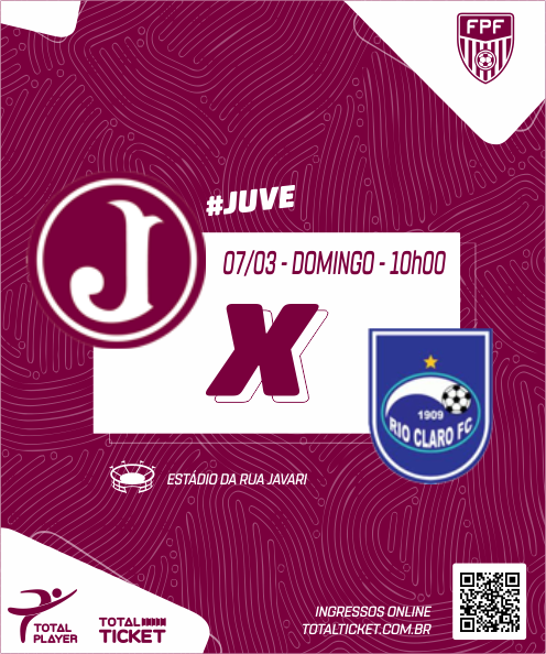JUVENTUS X RIO CLARO