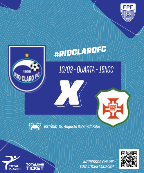 RIO CLARO X AA PORTUGUESA